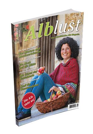 Die aktuelle Ausgabe der Alblust im Herbst 2016