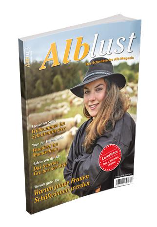 Die aktuelle Ausgabe der Alblust im Winter 2016