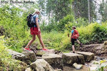 Alblust Sommerausgabe 2019 Schliechem Wanderweg. Foto: Thomas Rathay