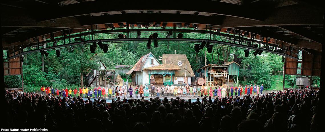Alblust Tipps & Termine Juni Naturtheater Heidenheim